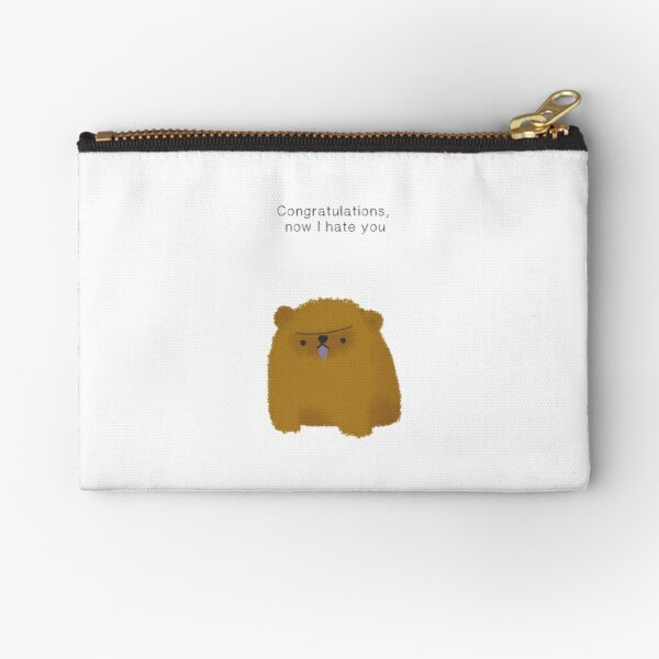 Say it with a puppy: chowchow Zipper Pouch