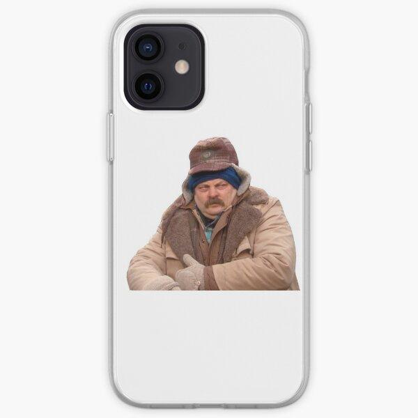 ron swanson iPhone Soft Case