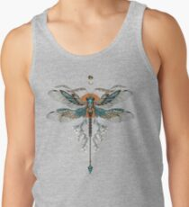 Dragon Fly Tattoo Tank Top