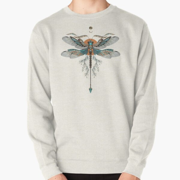 Dragon Fly Tattoo Pullover Sweatshirt