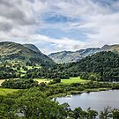 Landscape in the Lake District by DebbyScott