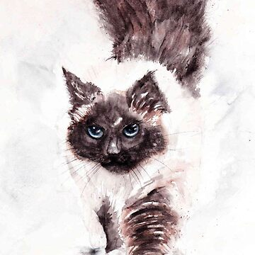 "245. ""Miss Purrrfect"" by M.Viljoen by mviljoenart"