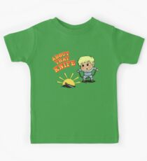 I'M ABOUT THAT KNIFE! Kids Tee