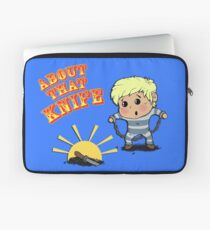 I'M ABOUT THAT KNIFE! Laptop Sleeve