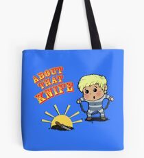 I'M ABOUT THAT KNIFE! Tote Bag