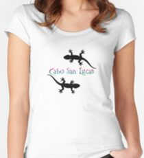 Camiseta entallada de cuello redondo Cabo San Lucas