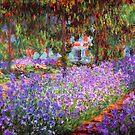 Der Garten des Künstlers in Giverny von Monet von GalleryGreats