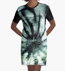 Vortex (jade) Graphic T-Shirt Dress