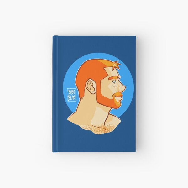 BEN PORTRAIT - PROFILE Hardcover Journal