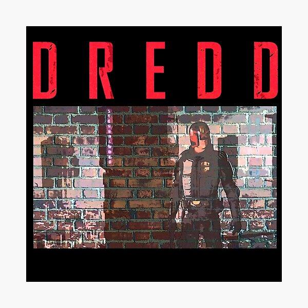 Judge Dredd Photographic Print