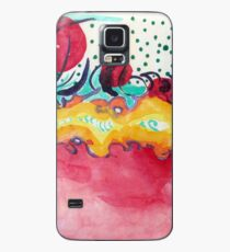 Caterpillar, abstract ink painting. Case/Skin for Samsung Galaxy