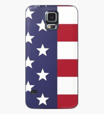 USA map special artwork style with flag illustration Case/Skin for Samsung Galaxy