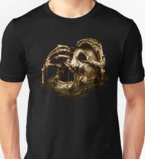 Black Sails Golden Skull T-Shirt