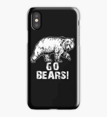 Go Bears Sports Team Games  iPhone Case/Skin
