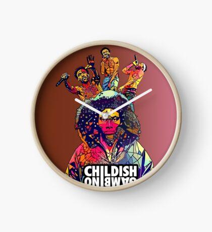 Childish Gambino Clock