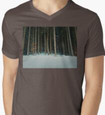 conifer Mens V-Neck T-Shirt