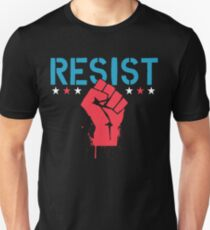 No Ban No Wall - Resist T-Shirt