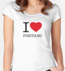 I ♥ POSITANO Women's Fitted Scoop T-Shirt