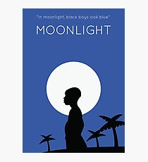 Moonlight Minimalist Photographic Print