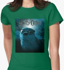 Harry Otter Womens Fitted T-Shirt