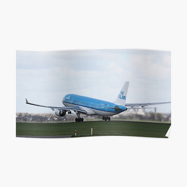 KLM Airbus A330 Poster