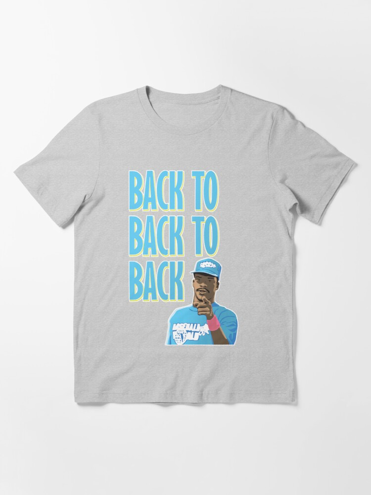 Alternate view of Back to Back to Back Essential T-Shirt