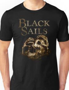 Black Sails Golden Skull Logo Unisex T-Shirt