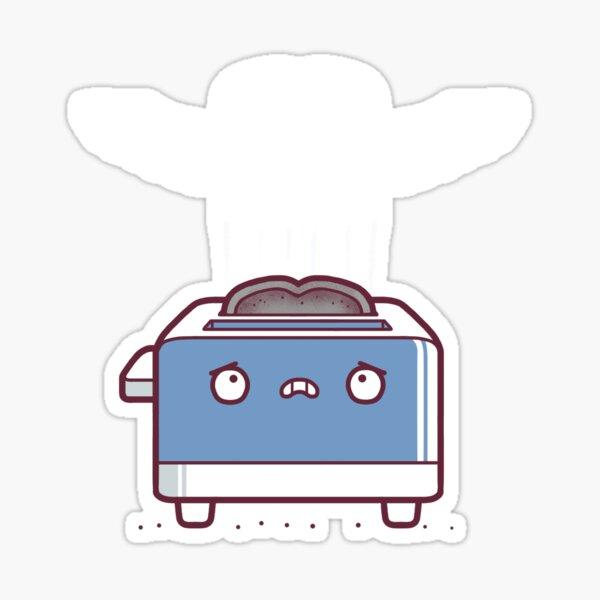 Toast ghost Sticker
