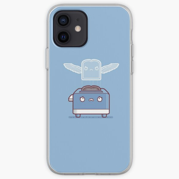 Toast ghost iPhone Soft Case