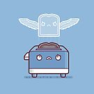 Toast ghost by Randyotter