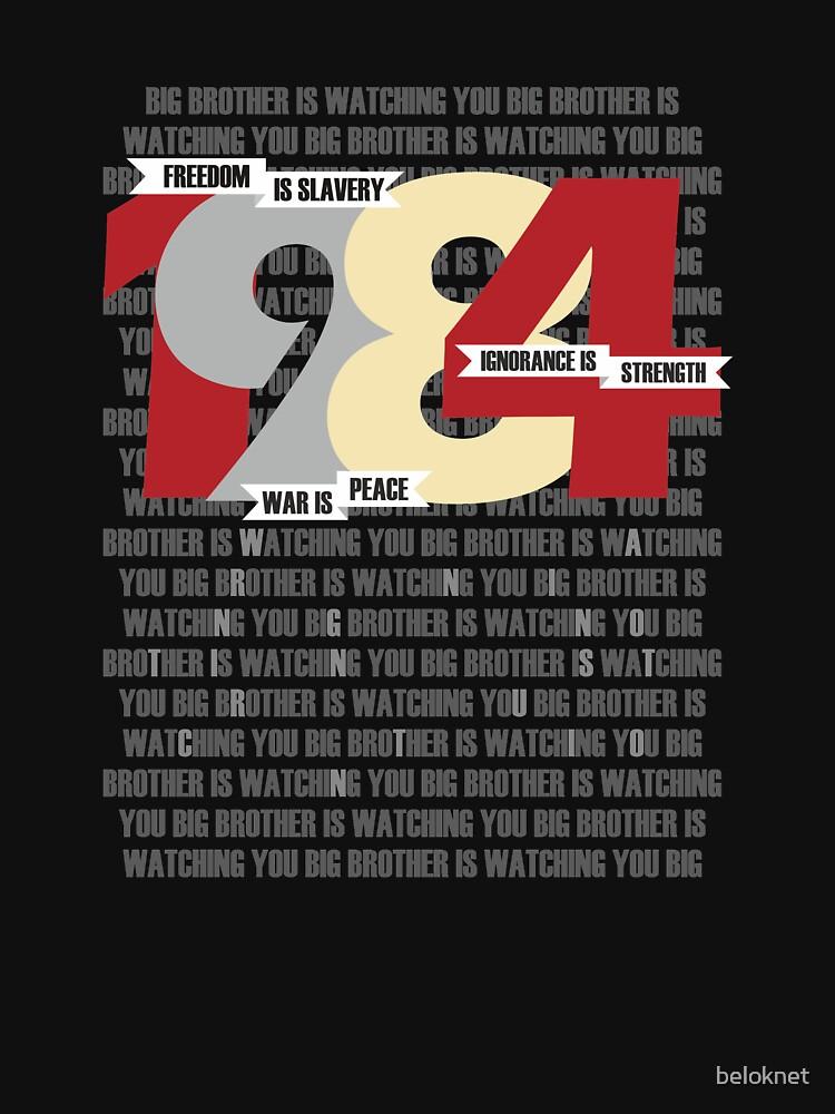 George Orwell - Nineteen Eighty-Four by beloknet
