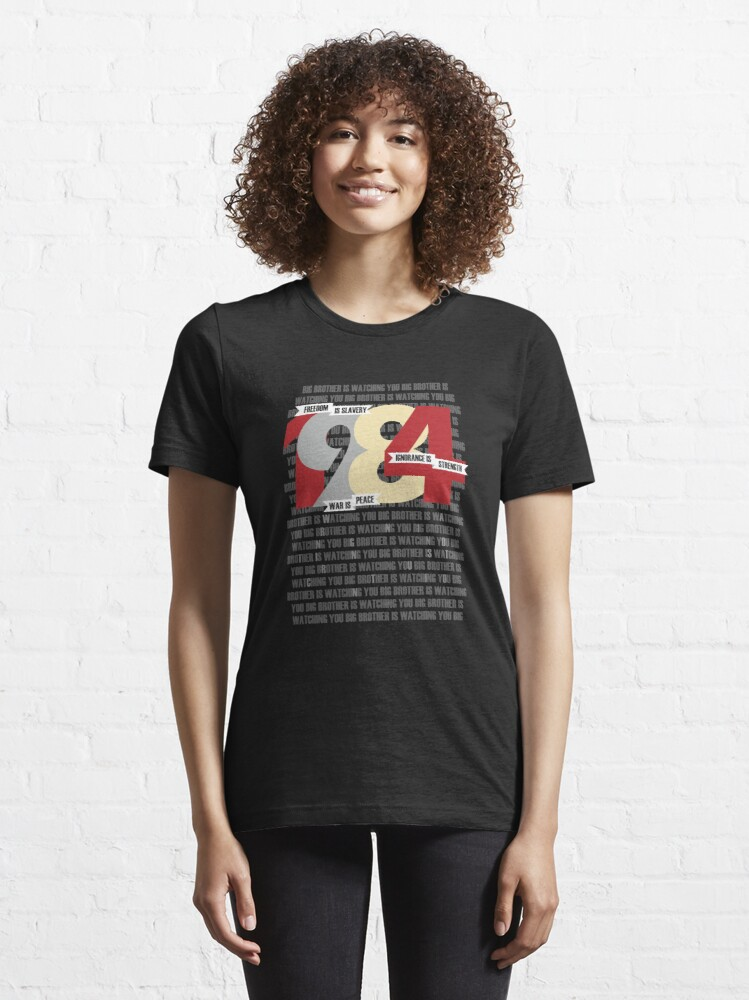 Alternate view of George Orwell - Nineteen Eighty-Four Essential T-Shirt
