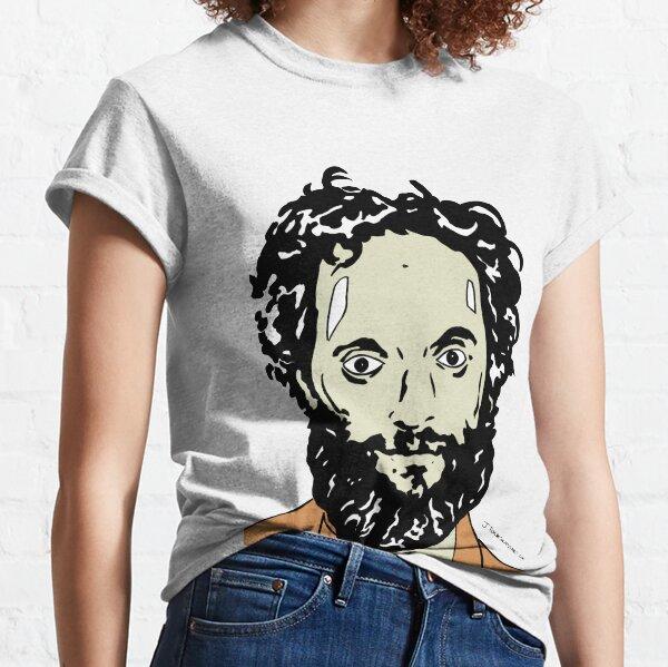 Jason Mantzoukas Colour Portrait JTownsend Classic T-Shirt