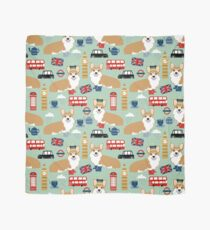 Corgi pattern london welsh corgi british anglophile cute dog breed art by pet friendly Scarf