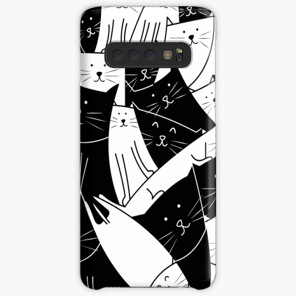 The Cats are Watching B/W Samsung Galaxy Snap Case