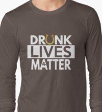 Drunk Lives Matter T Shirt for St Patrick's Day T-Shirt