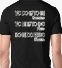 Do be Do be Do,  MUSIC, Frank Sinatra Lyrics, Greek version, T-Shirt