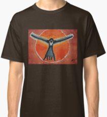 Bluebird Shaman original painting Classic T-Shirt