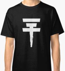 Tokio Hotel Logo (white, once) Classic T-Shirt