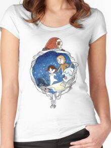 Ben & Saoirse Women's Fitted Scoop T-Shirt