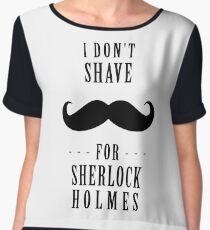 Sherlock - Shave for Sherlock Holmes Chiffon Top