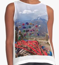 Handicrafts with a view Contrast Tank