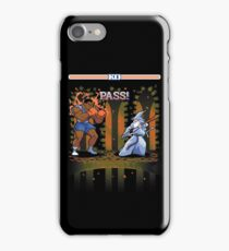 Round One, Pass! iPhone Case/Skin