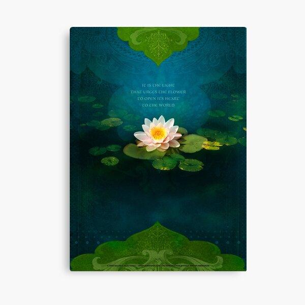 Bouquet of Light Canvas Print