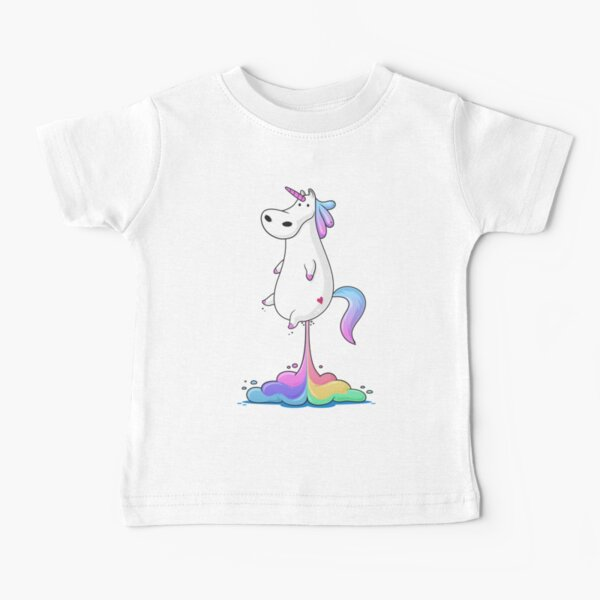 Unicorn Fart Baby T-Shirt