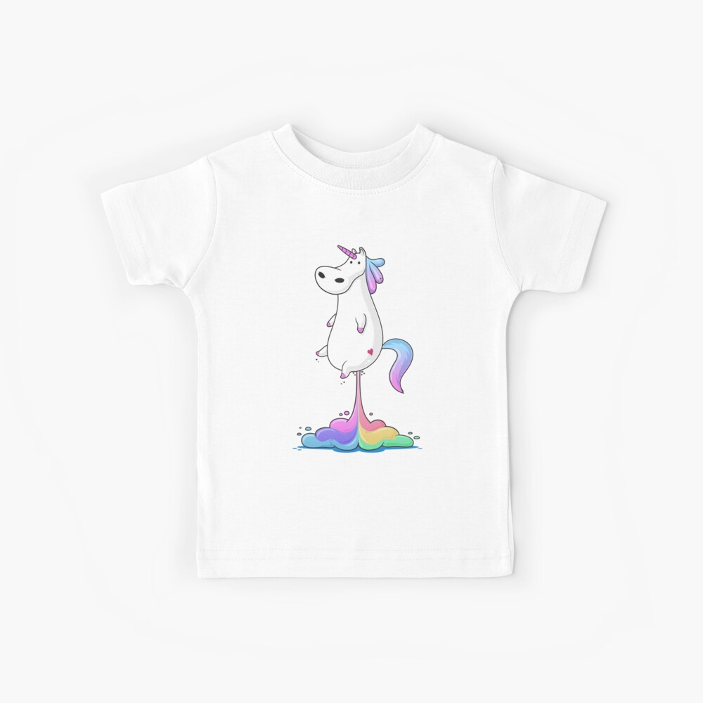 Unicorn Fart Kids T-Shirt