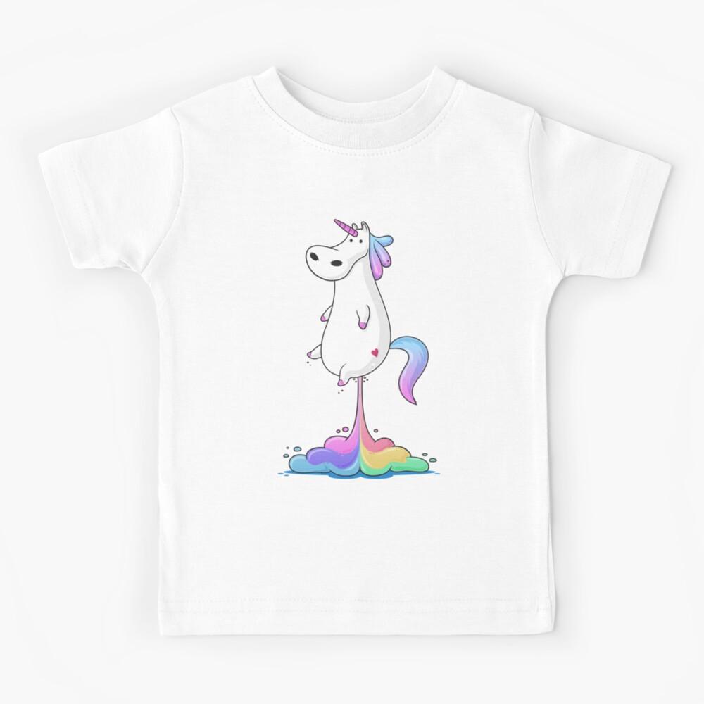 Unicorn Fart Kids T-Shirt