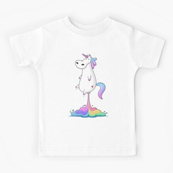 Einhorn Furz Kinder T-Shirt