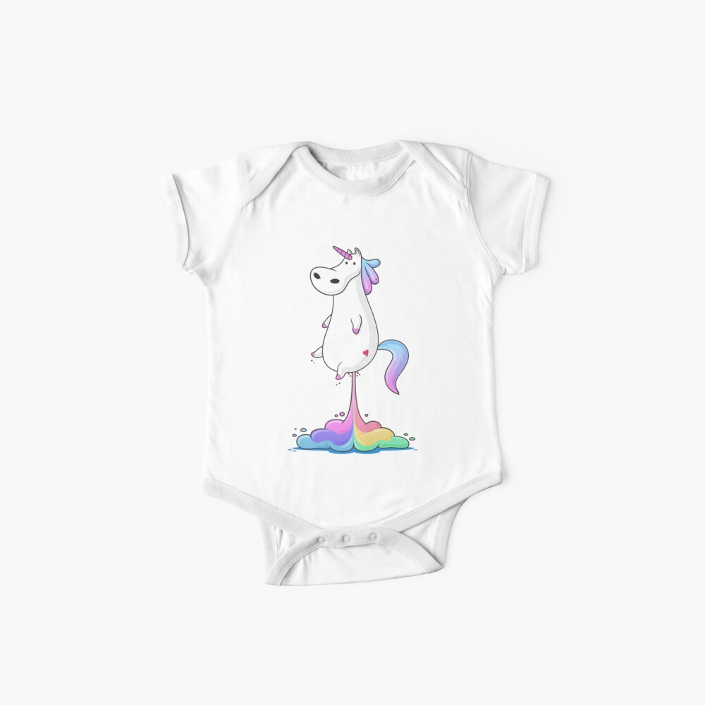 Unicorn Fart Baby One-Pieces