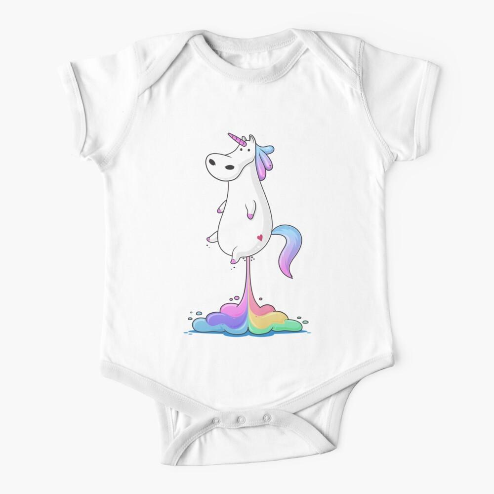 Unicorn Fart Baby One-Piece